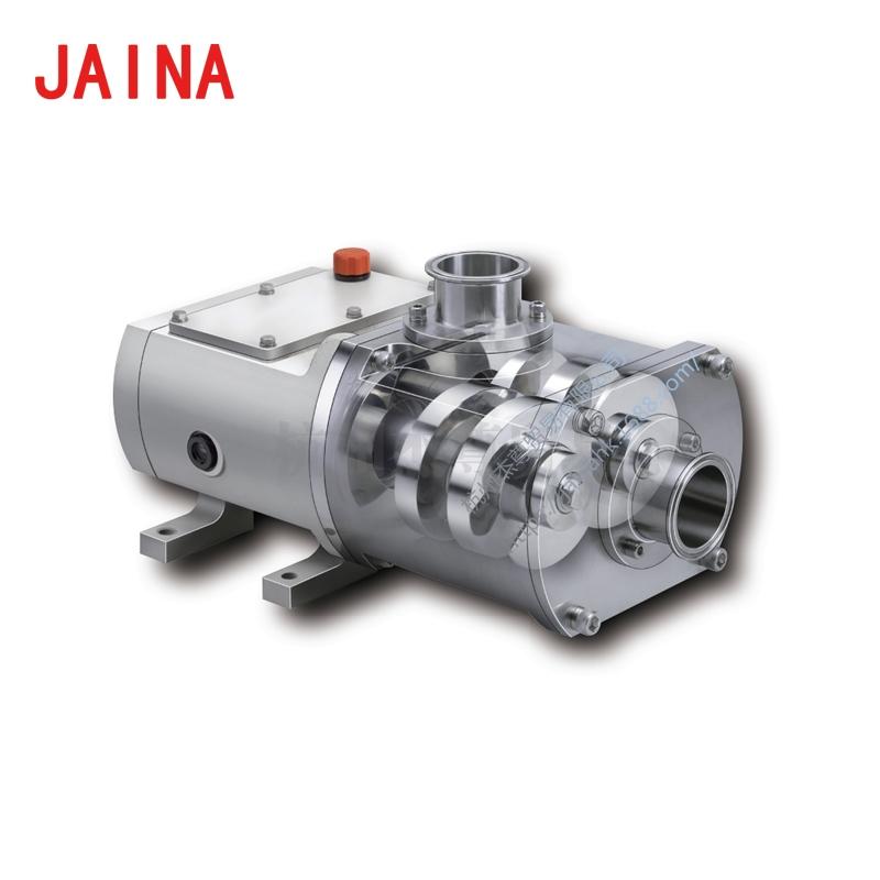 双轴螺杆泵 自吸式液体传送泵 高浓度固体混合液适用